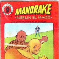 Cómics: MANDRAKE. MERLIN EL MAGO. Lote 49788825