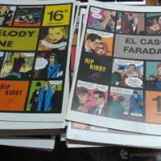 Cómics: RIP KIRBY / LOTE DE 36 NÚMEROS: ALEX RAYMOND / MAGERIT. Lote 50533580