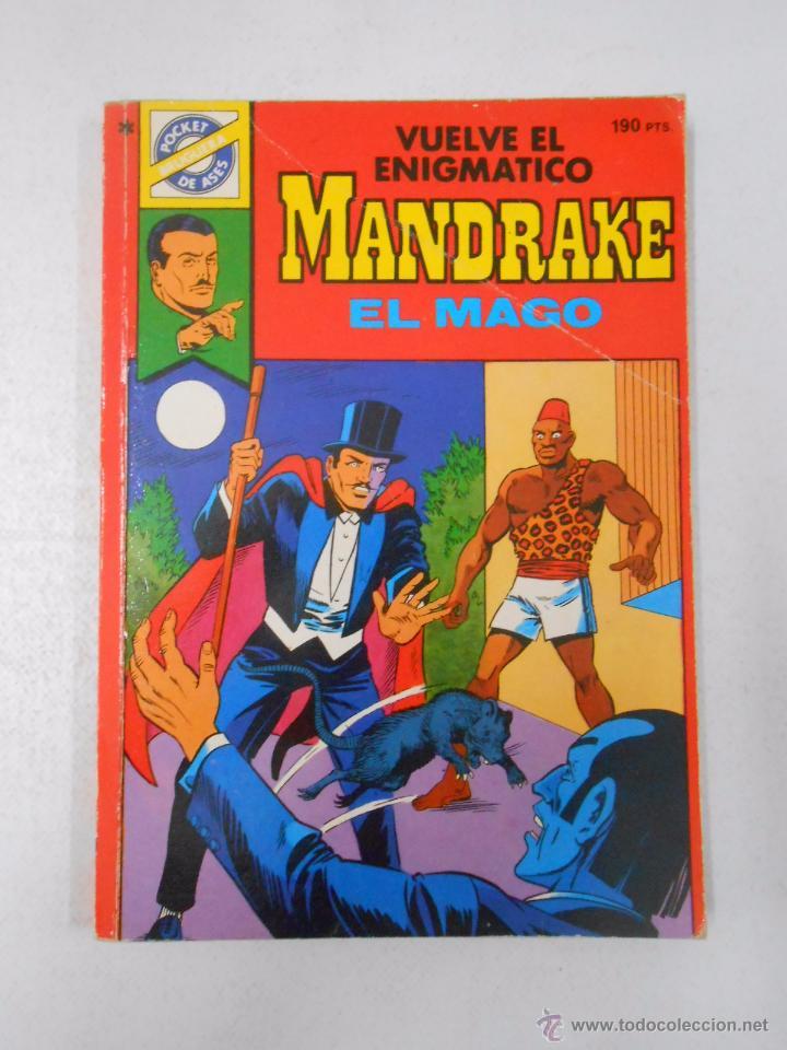 VUELVE EL ENIGMATICO MANDRAKE EL MAGO Nº 38. TDK59 (Tebeos y Comics - Magerit - Mandrake)