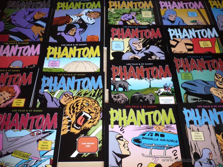 PHANTOM. EL HOMBRE ENMASCARADO. FALK & BARRY. MAGERIT. TIRAS DIARIAS, EDICIÓN COMPLETA*. (Tebeos y Comics - Magerit - Phantom)
