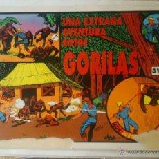 Cómics: JORGE Y FERNANDO Nº 31 - UNA EXTAÑA AVENTURA ENTRE GORILAS - MAGERIT (TAMAÑO GRANDE). Lote 51217973