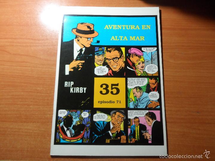RIP KIRBY Nº 71 AVENTURA EN ALTA MAR Nº 35 EPISODIO EDITA MAGERIT (Tebeos y Comics - Magerit - Rip Kirby)