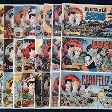 Cómics: COLECCIÓN COMPLETA DE JORGE Y FERNANDO (SOLO SE EDITARON ESTOS 10 TOMOS POR LOS AÑOS 80). Lote 56515695