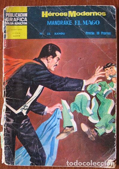 HÉROES MODERNOS - NÚMERO 23 - MANDRAKE EL MAGO - EDITORIAL DOLAR (Tebeos y Comics - Magerit - Mandrake)