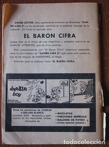 Cómics: HÉROES MODERNOS - NÚMERO 23 - MANDRAKE EL MAGO - EDITORIAL DOLAR - Foto 2 - 61938320
