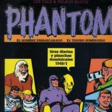 Cómics: EL HOMBRE ENMASCARADO. TIRAS DIARIAS Y PLANCHAS DOMINICALES 1949/1 VOL XI MAGERIT. Lote 65785262