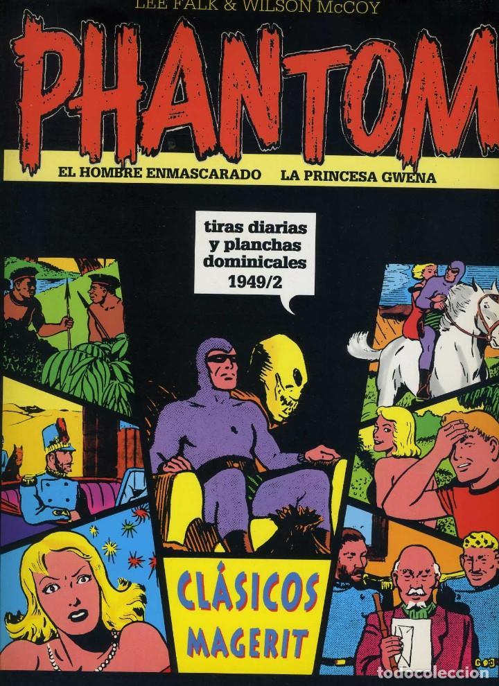 EL HOMBRE ENMASCARADO. TIRAS DIARIAS Y PLANCHAS DOMINICALES 1949/2 VOL XXIII MAGERIT (Tebeos y Comics - Magerit - Phantom)