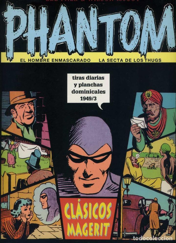 EL HOMBRE ENMASCARADO. TIRAS DIARIAS Y PLANCHAS DOMINICALES 1949/3 VOL XXVII MAGERIT (Tebeos y Comics - Magerit - Phantom)