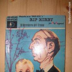 Cómics: RIP KIRBI EL HEREDERO DEL TRONO NOVELAS GRAFICAS Nº27. Lote 68159193