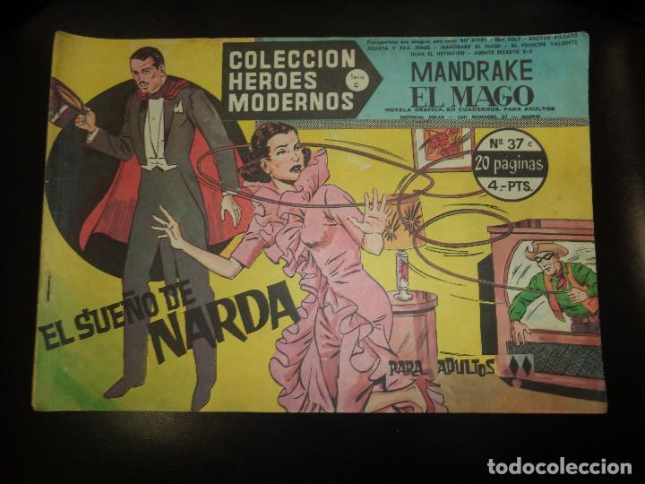 MANDRAKE EL MAGO. LOTE (Tebeos y Comics - Magerit - Mandrake)