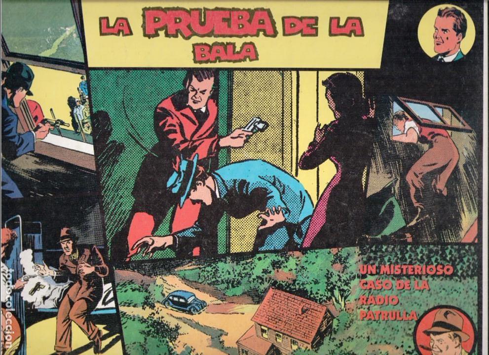 RADIO PATRULLA 18ª AVENTURA. TIRAS DIARIAS (Tebeos y Comics - Magerit - Otros)