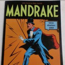 Cómics: MANDRAKE TIRAS DIARIAS 1959 VOL.12 LEE FALK & PHILDAVIS. Lote 87224544
