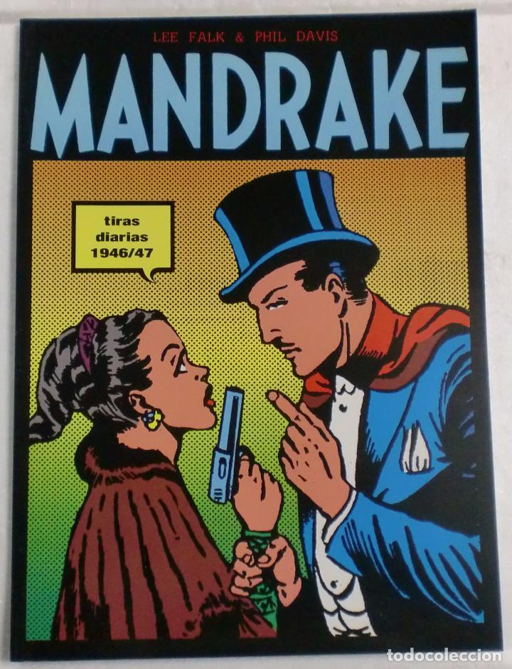 MANDRAKE TIRAS DIARIAS 1946/47 TOMO I. LEE FALK & PHIL DAVIS (Tebeos y Comics - Magerit - Mandrake)