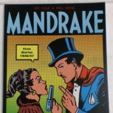 Cómics: MANDRAKE TIRAS DIARIAS 1946/47 TOMO I. LEE FALK & PHIL DAVIS. Lote 87286252