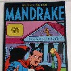 Cómics: MANDRAKE TIRAS DIARIAS 1948/49 VOL.4. LEE FALK & PHIL DAVIS. Lote 87286544