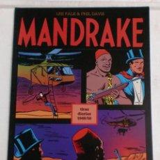 Cómics: MANDRAKE TIRAS DIARIAS 1949/50 VOL.15. LEE FALK & PHIL DAVIS. Lote 87286744