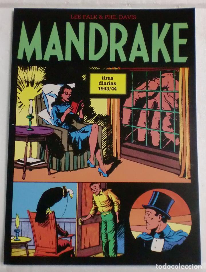 MANDRAKE TIRAS DIARIAS 1943/44 VOL.10. LEE FALK & PHIL DAVIS (Tebeos y Comics - Magerit - Mandrake)