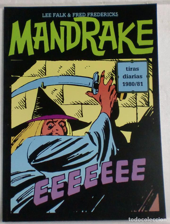 MANDRAKE TIRAS DIARIAS 1980/81 VOL.25. LEE FALK & PHIL DAVIS (Tebeos y Comics - Magerit - Mandrake)