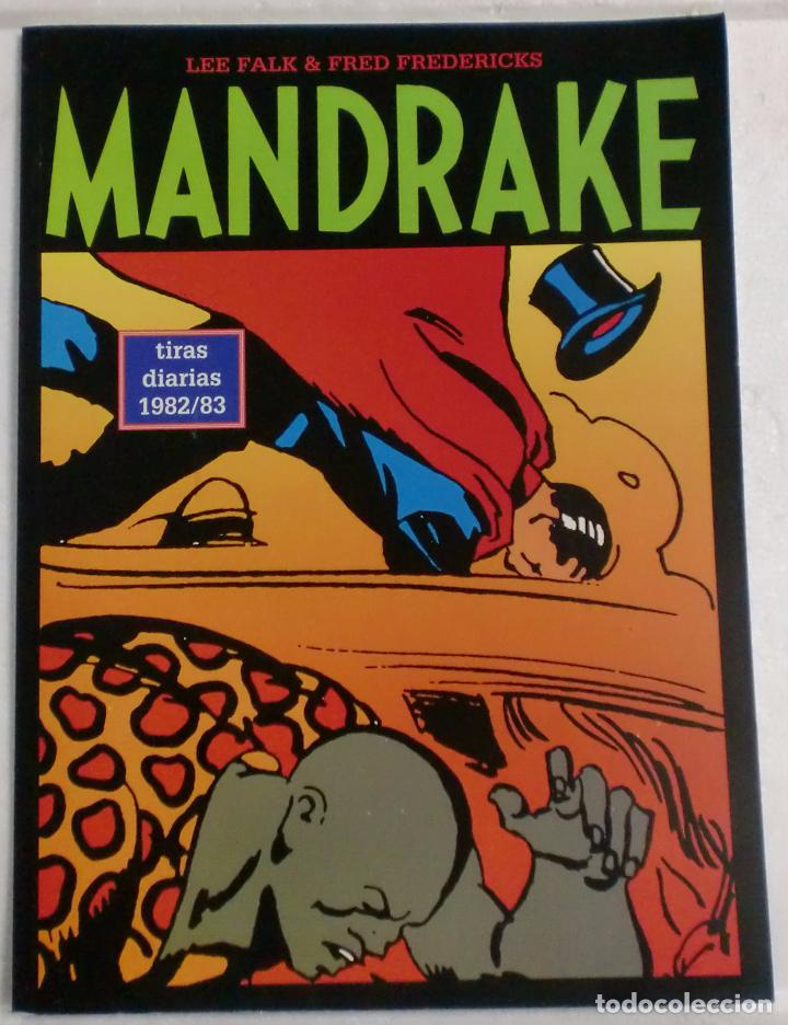 MANDRAKE TIRAS DIARIAS 1982/83 VOL.34. LEE FALK & PHIL DAVIS (Tebeos y Comics - Magerit - Mandrake)