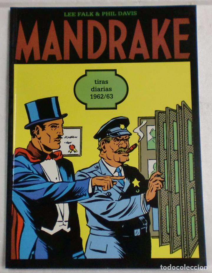 MANDRAKE TIRAS DIARIAS 1962/63 VOL.27. LEE FALK & PHIL DAVIS (Tebeos y Comics - Magerit - Mandrake)