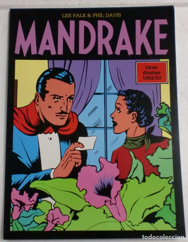 MANDRAKE TIRAS DIARIAS 1952/53 VOL.11. LEE FALK & PHIL DAVIS (Tebeos y Comics - Magerit - Mandrake)