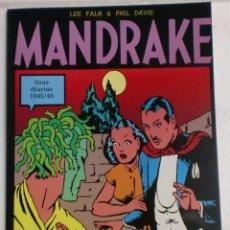 Cómics: MANDRAKE TIRAS DIARIAS 1945/46 VOL.6. LEE FALK & PHIL DAVIS. Lote 87291924