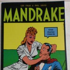 Cómics: MANDRAKE TIRAS DIARIAS 1944/45 VOL.5. LEE FALK & PHIL DAVIS. Lote 87291988