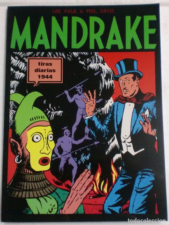 MANDRAKE TIRAS DIARIAS 1944 VOL.9. LEE FALK & PHIL DAVIS (Tebeos y Comics - Magerit - Mandrake)
