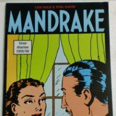 Cómics: MANDRAKE TIRAS DIARIAS 1955/56 VOL.37. LEE FALK & PHIL DAVIS. Lote 87292760