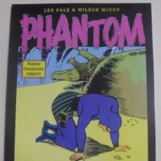 Cómics: PHANTOM - PÁGINAS DOMINICALES 1956/57 VOLUMEN 21 - LEE FALK & WILSON MCCOY - PERFECTO ESTADO. Lote 88088572