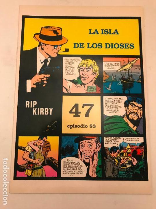 RIP KIRBY EPISODIO Nº 83. LA ISLA DE LOS DIOSES. JOHN PRENTICE MAGERIT 1997 (Tebeos y Comics - Magerit - Rip Kirby)