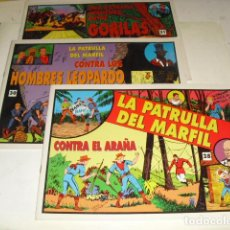 Cómics: JORGE Y FERNANDO NUMS. 28-30-31 -. Lote 99990059