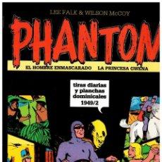 Cómics: PHANTOM TIRAS DIARIAS Y PLANCHAS DOMINICALES 1949/2 (VOLUMEN XIII) -NUEVO-. Lote 102378535