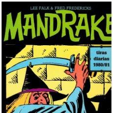Cómics: MANDRAKE TIRAS DIARIAS 1980/81 TOMO XXV -NUEVO-. Lote 102385855