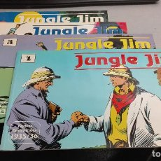 Cómics: JUNGLE JIM / LOTE NÚMEROS DEL 1 AL 4 / DON MOORE - ALEX RAYMOND / MAGERIT. Lote 112035559