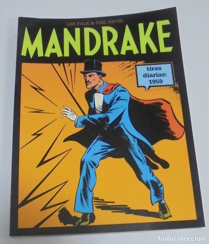 TEBEO MANDRAKE. TIRAS DIARIAS 1959. VOLUMEN 12º. MAGERIT (Tebeos y Comics - Magerit - Mandrake)