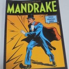 Cómics: TEBEO MANDRAKE. TIRAS DIARIAS 1959. VOLUMEN 12º. MAGERIT. Lote 112979335