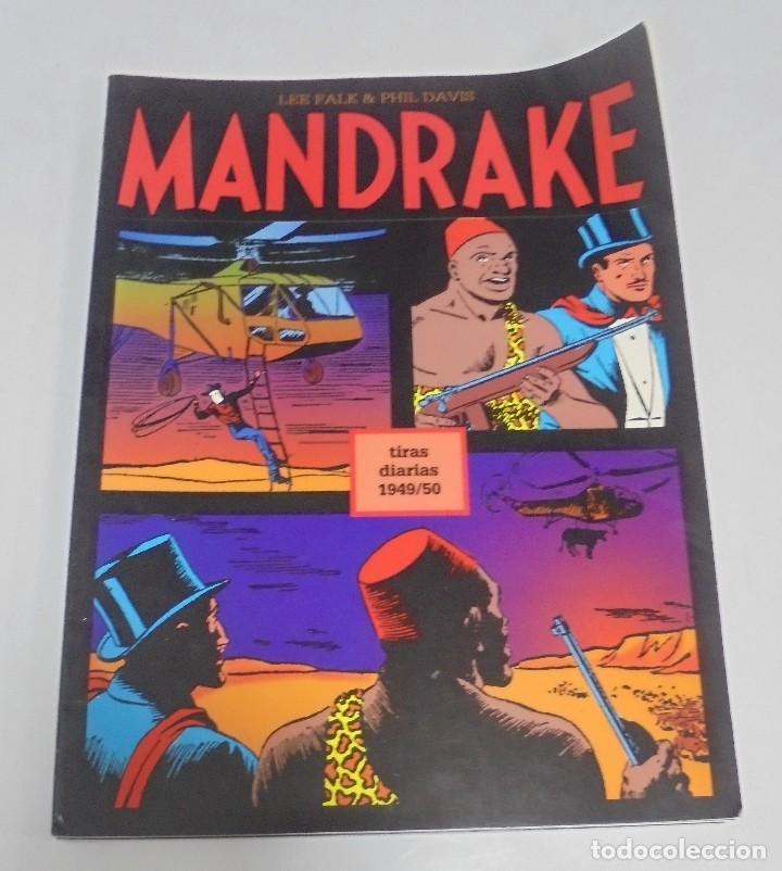 TEBEO MANDRAKE. TIRAS DIARIAS 1949/50. VOLUMEN 15º. MAGERIT (Tebeos y Comics - Magerit - Mandrake)
