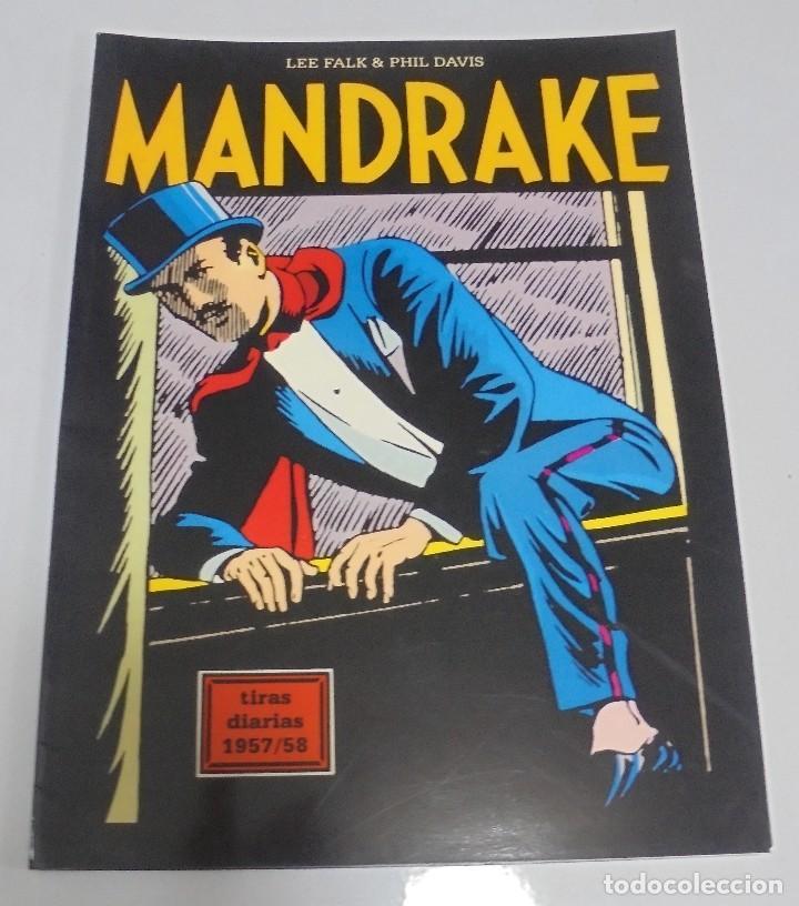 TEBEO MANDRAKE. TIRAS DIARIAS 1957/58. VOLUMEN 22º. MAGERIT (Tebeos y Comics - Magerit - Mandrake)