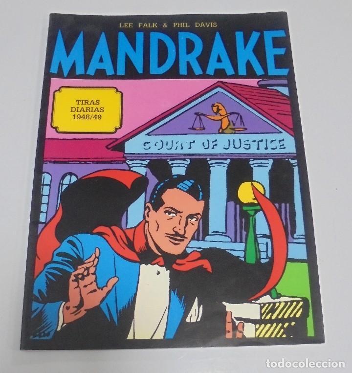 TEBEO MANDRAKE. TIRAS DIARIAS 1948/49. VOLUMEN 4º. MAGERIT (Tebeos y Comics - Magerit - Mandrake)