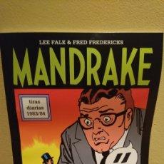 Cómics: MANDRAKE LEE FALK & FRED FREDERICKS TIRAS DIARIAS 1983/84. Lote 118598672