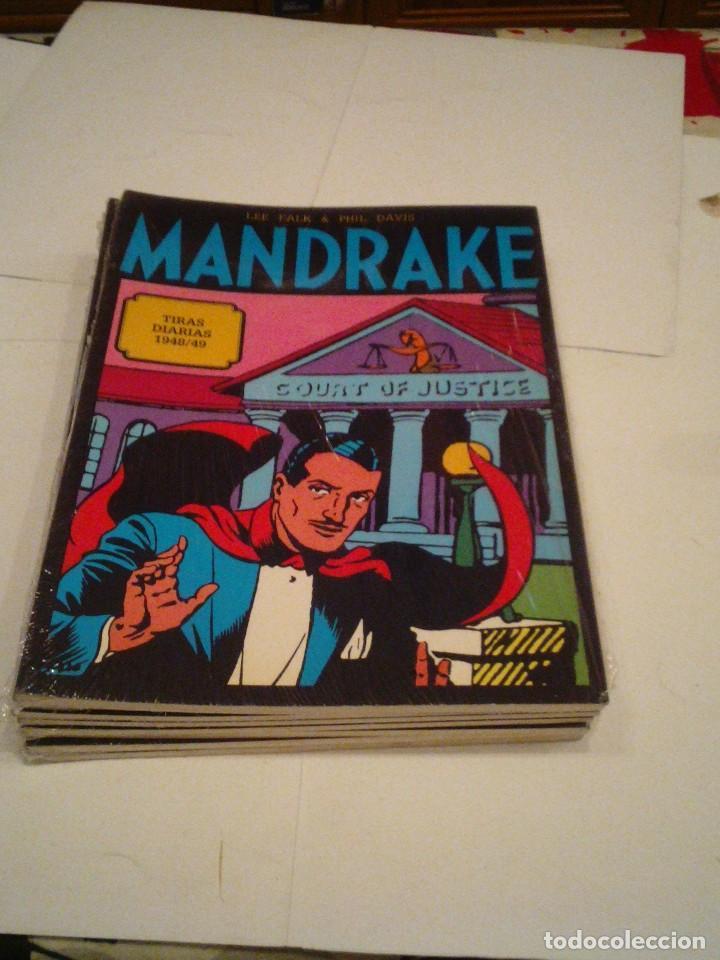 Cómics: LOTE DE 17 NUMEROS DE TIRAS DIARIAS DE MANDRAKE - EUROCLUB MAGERIT - NUEVOS - GORBAUD - Foto 10 - 119326583