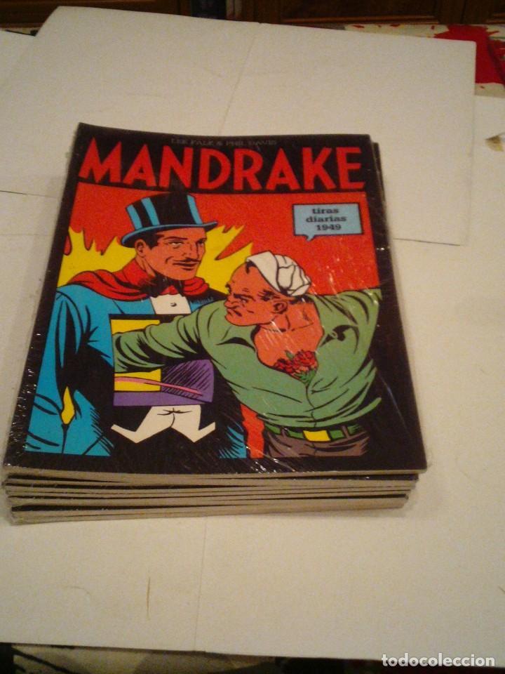 Cómics: LOTE DE 17 NUMEROS DE TIRAS DIARIAS DE MANDRAKE - EUROCLUB MAGERIT - NUEVOS - GORBAUD - Foto 11 - 119326583