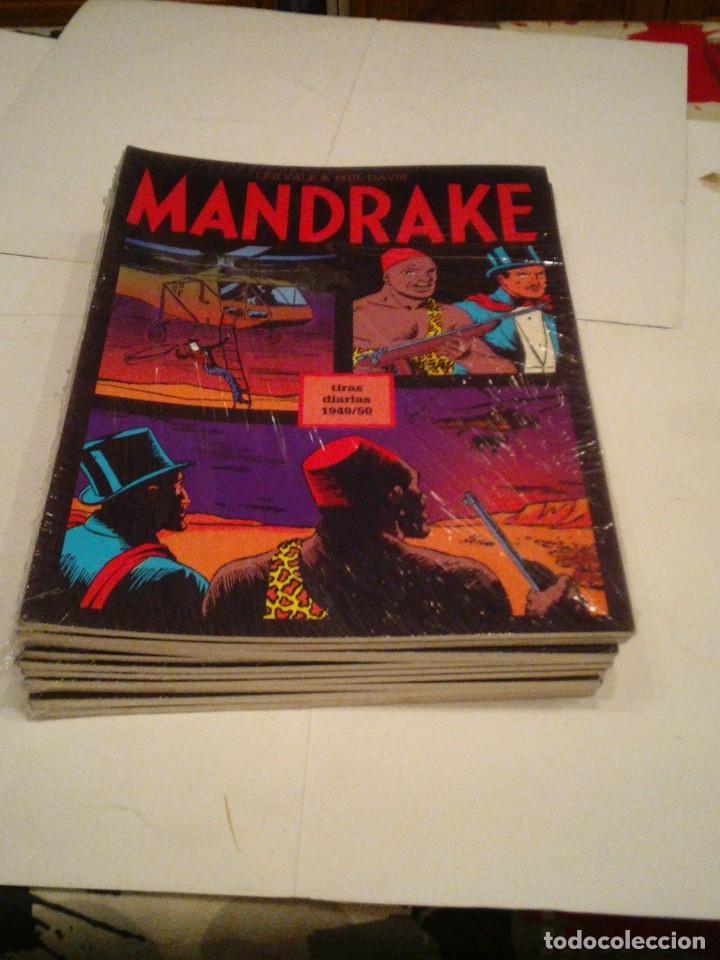 Cómics: LOTE DE 17 NUMEROS DE TIRAS DIARIAS DE MANDRAKE - EUROCLUB MAGERIT - NUEVOS - GORBAUD - Foto 12 - 119326583