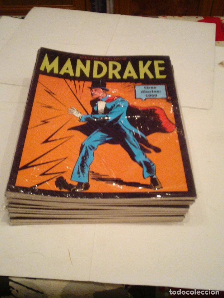 Cómics: LOTE DE 17 NUMEROS DE TIRAS DIARIAS DE MANDRAKE - EUROCLUB MAGERIT - NUEVOS - GORBAUD - Foto 14 - 119326583