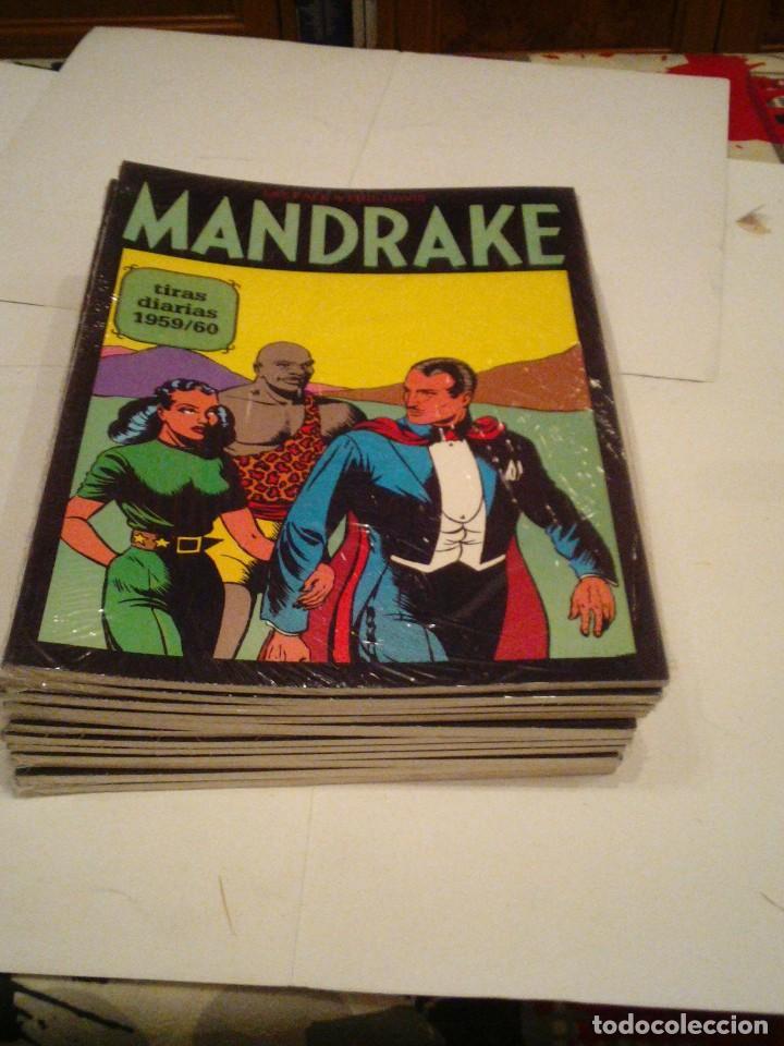 Cómics: LOTE DE 17 NUMEROS DE TIRAS DIARIAS DE MANDRAKE - EUROCLUB MAGERIT - NUEVOS - GORBAUD - Foto 15 - 119326583