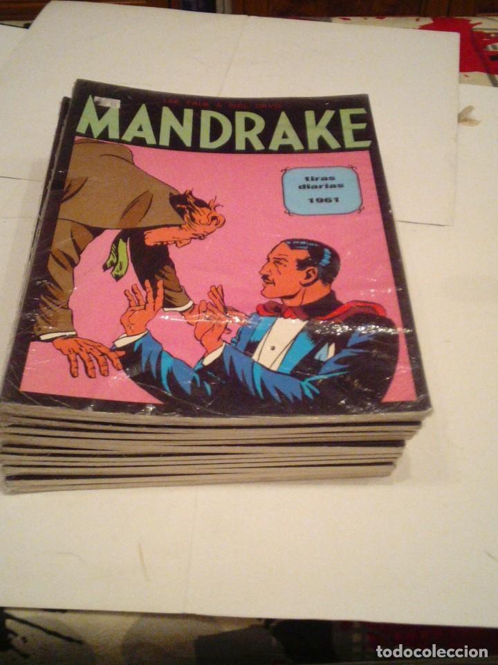 Cómics: LOTE DE 17 NUMEROS DE TIRAS DIARIAS DE MANDRAKE - EUROCLUB MAGERIT - NUEVOS - GORBAUD - Foto 16 - 119326583