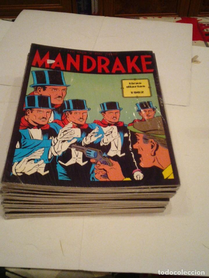Cómics: LOTE DE 17 NUMEROS DE TIRAS DIARIAS DE MANDRAKE - EUROCLUB MAGERIT - NUEVOS - GORBAUD - Foto 17 - 119326583