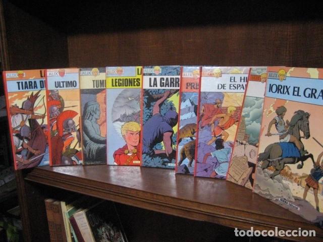 ALIX - JACQUES MARTIN - PRIMERA EDICION OIKOS TAU Y NORMA 9 TOMOS( DE 10 COLECCION COMPLETA )OFERTA (Tebeos y Comics - Magerit - Rip Kirby)