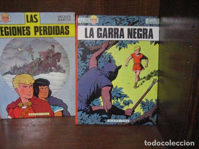 Cómics: ALIX - JACQUES MARTIN - PRIMERA EDICION OIKOS TAU Y NORMA 9 tomos( DE 10 COLECCION COMPLETA )OFERTA - Foto 4 - 126924447